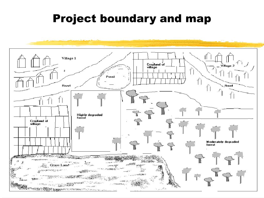 Project boundary and map