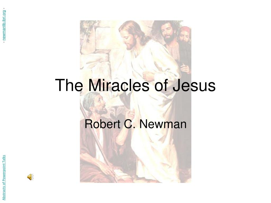 the miracles of jesus l.