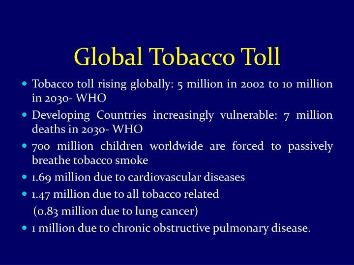 Global Tobacco Toll