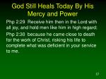 god still heals today by his mercy and power57