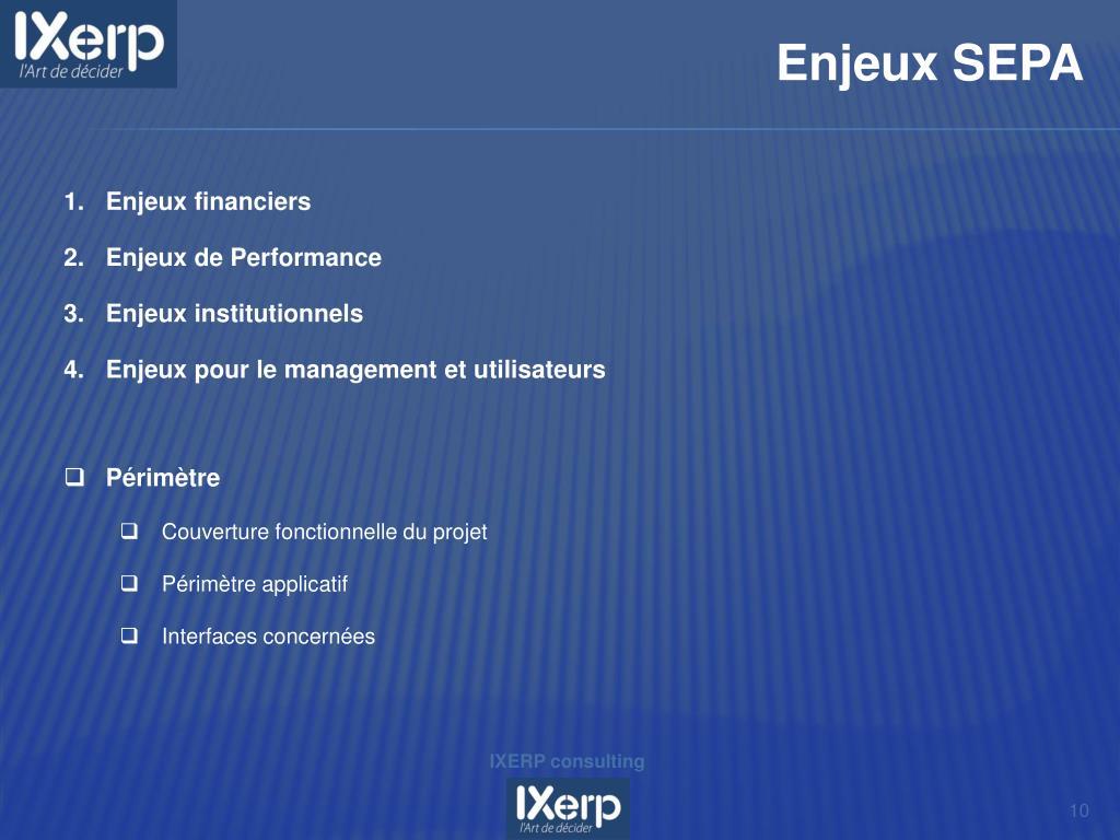 IXERP consulting