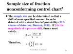 sample size of fraction nonconforming control chart 2