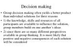 decision making57