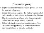 discussion group127