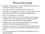 discussion group131