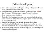 educational group