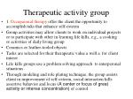 therapeutic activity group109