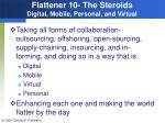flattener 10 the steroids digital mobile personal and virtual