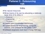 flattener 5 outsourcing y2k