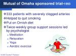 mutual of omaha sponsored trial 1993