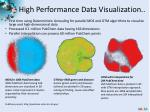 high performance data visualization