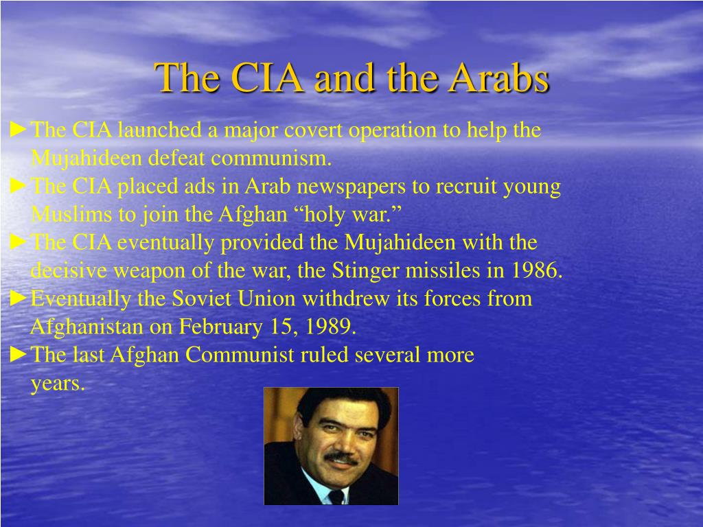 The CIA and the Arabs