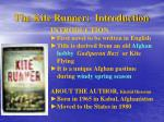 the kite runner introduction