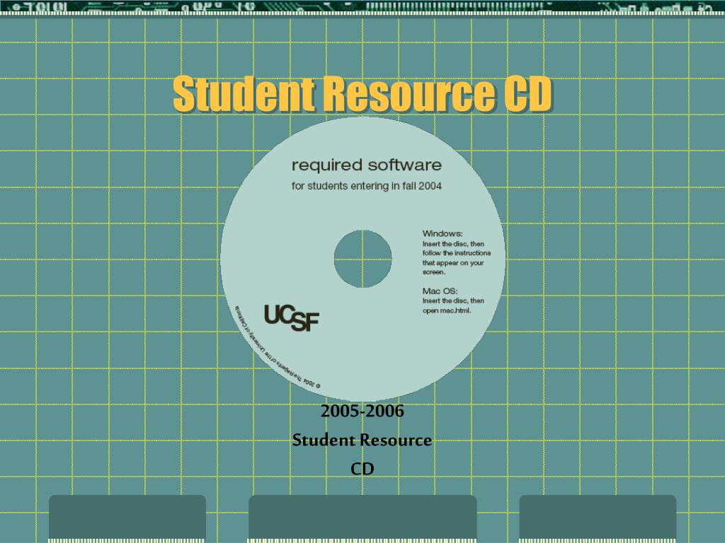 Student Resource CD