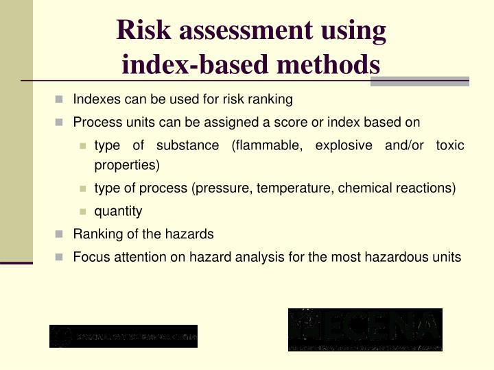 Risk assessment using