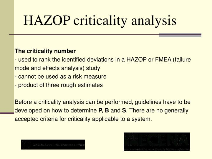 The criticality number
