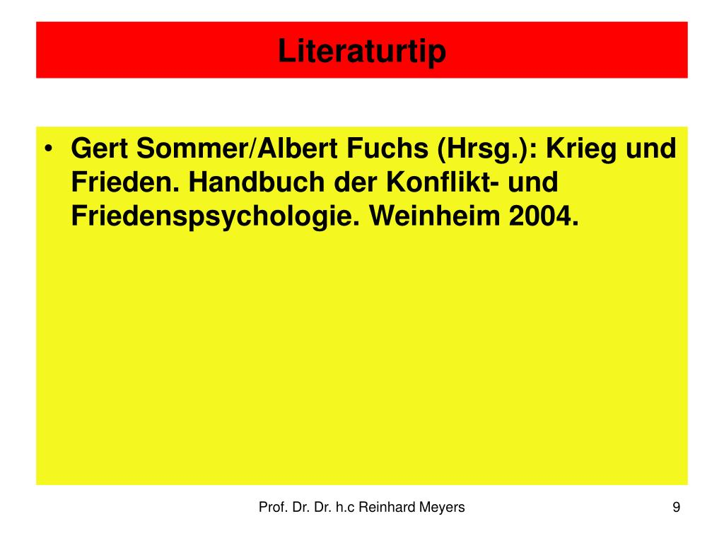 Literaturtip