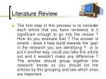 literature review91