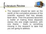 literature review93
