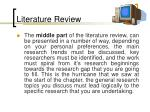 literature review96