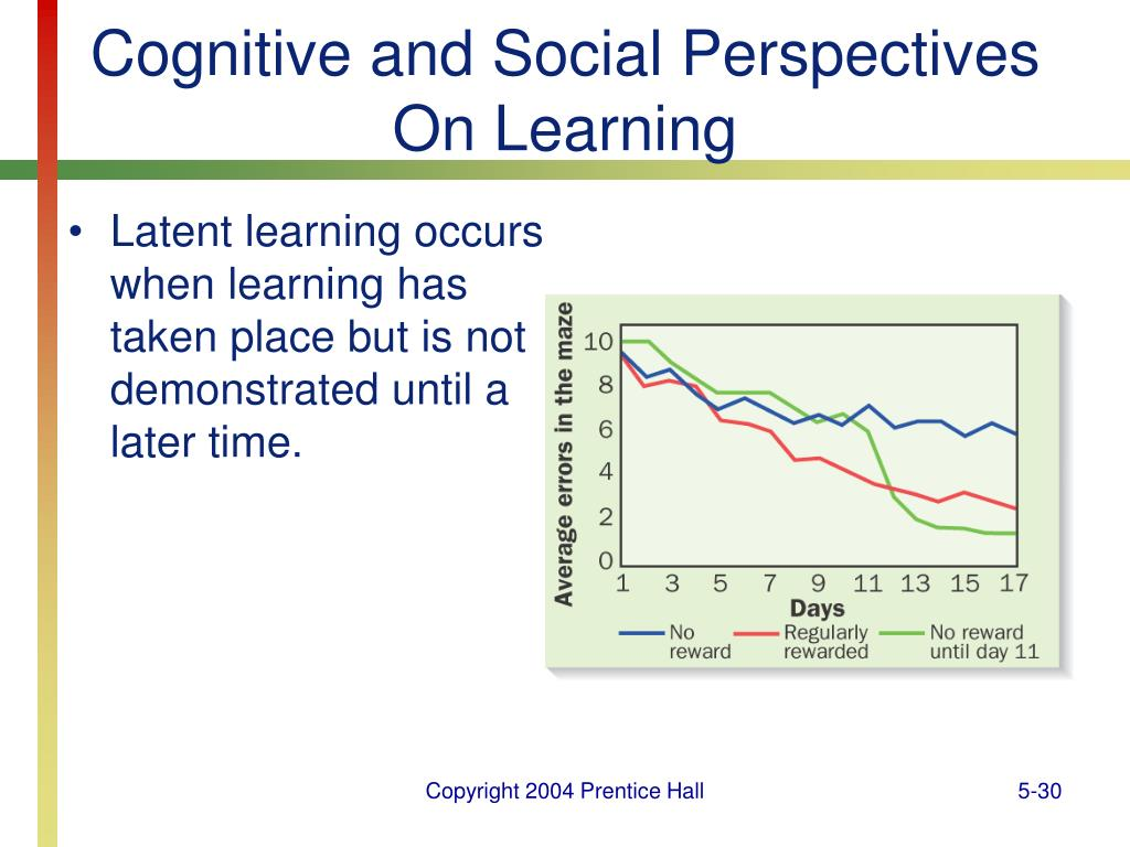 Cognitive and Social Perspectives On Learning