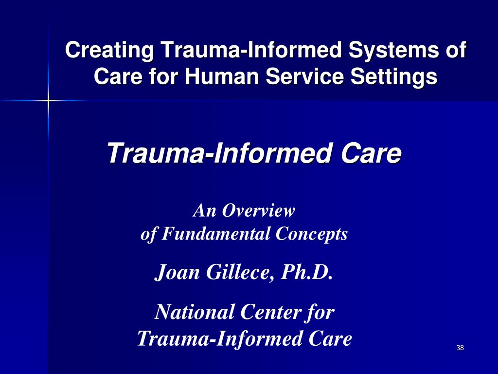 Creating Trauma-Informed Systems of Care for Human Service Settings