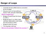danger of loops