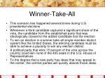 winner take all11