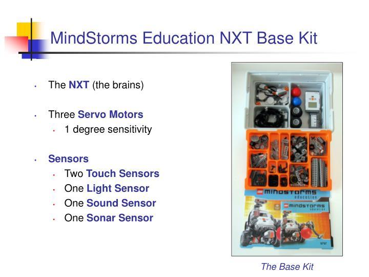 Mindstorms education nxt base kit