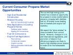 current consumer propane market opportunities