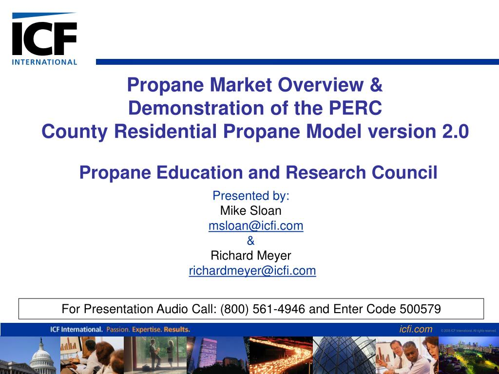 propane market overview demonstration of the perc county residential propane model version 2 0 l.