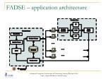fadse application architecture