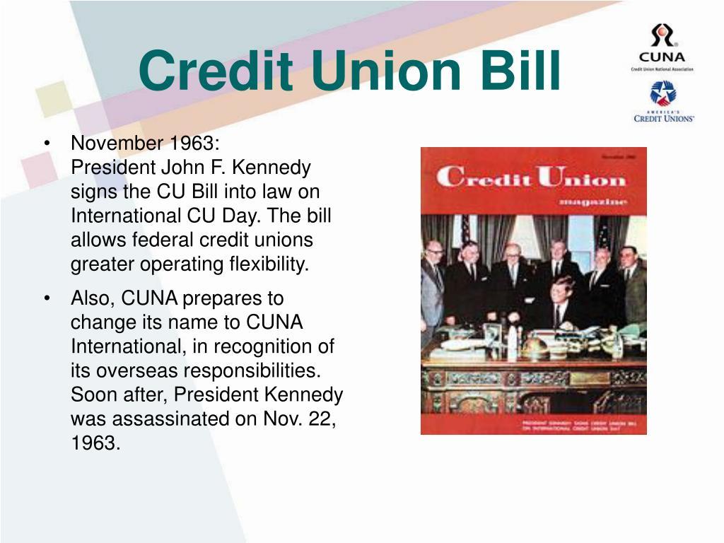 Credit Union Bill