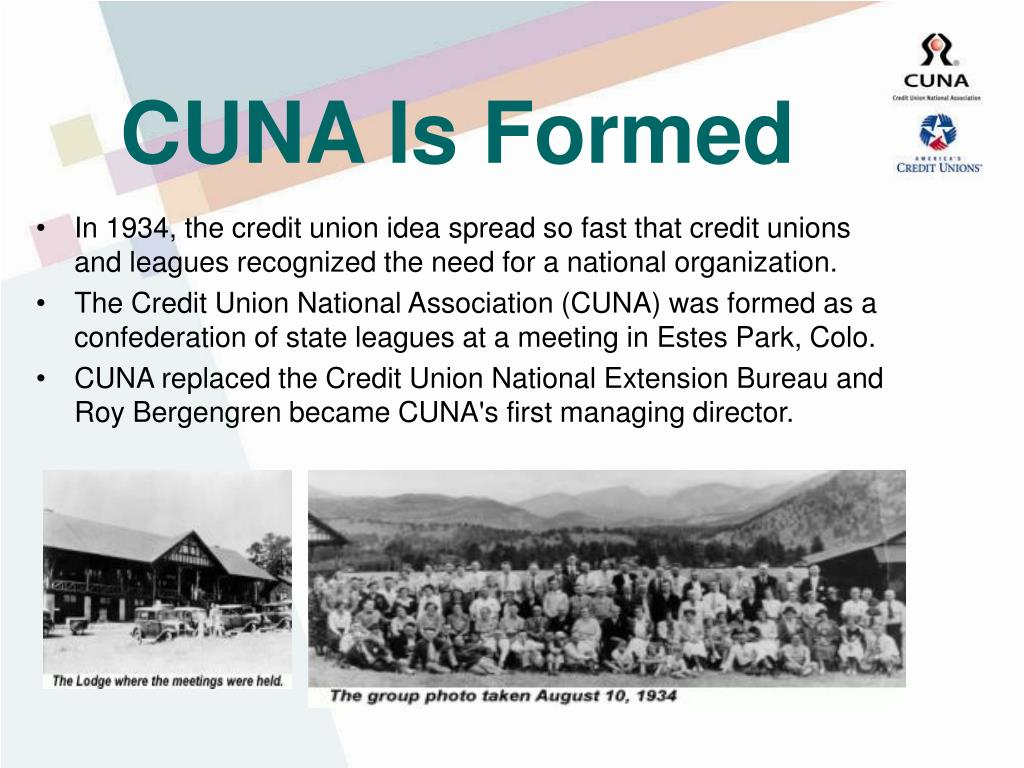 CUNA Is Formed