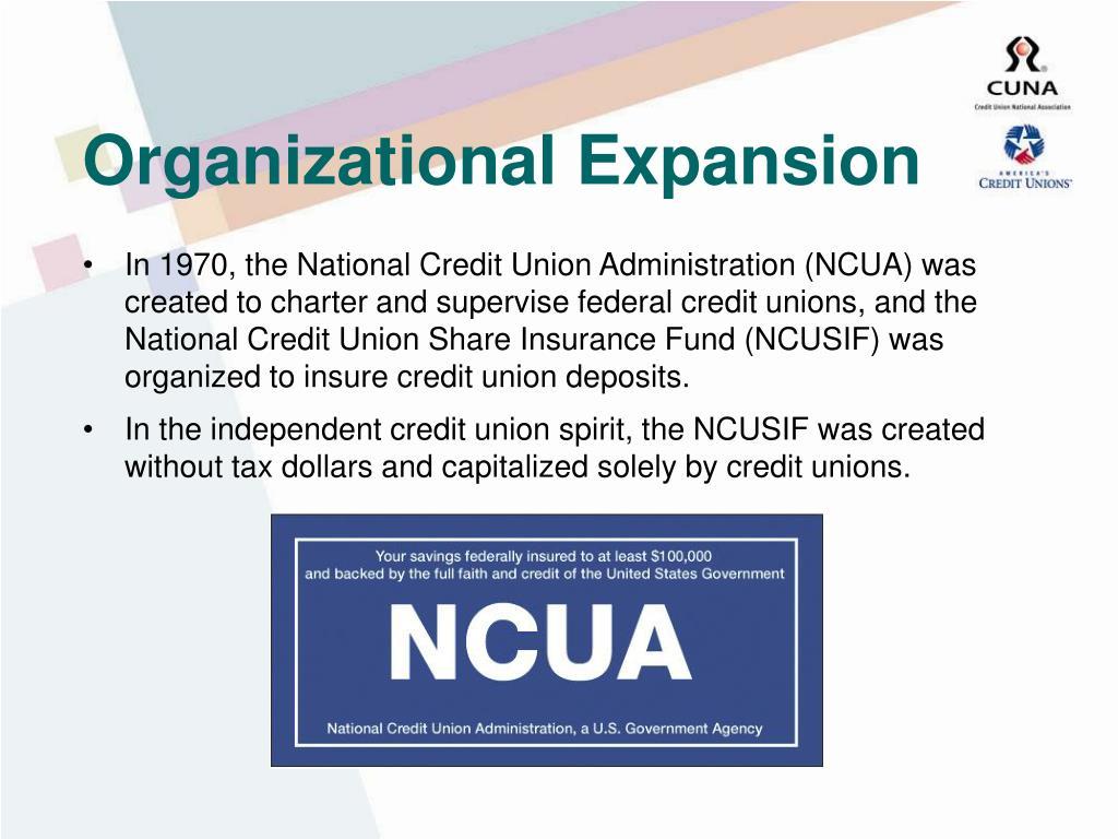 Organizational Expansion