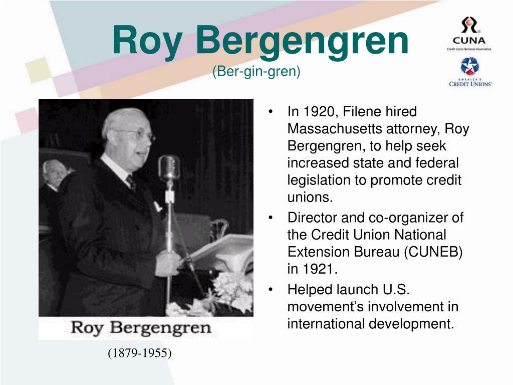 Roy Bergengren
