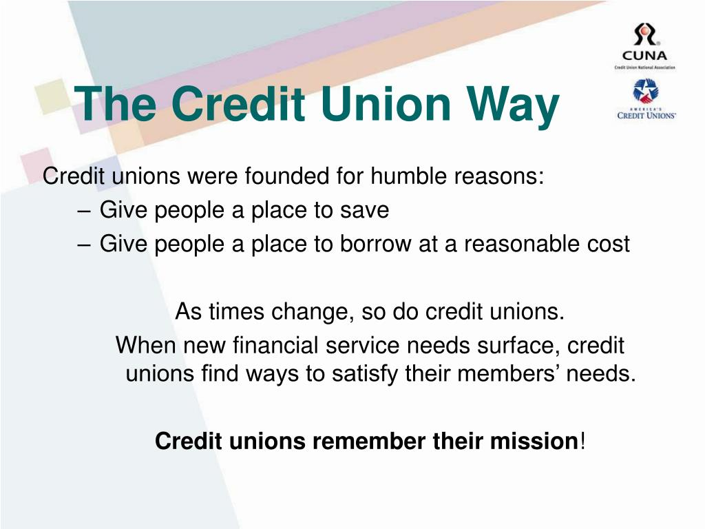 The Credit Union Way