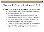 chapter 7 diversification and risk23