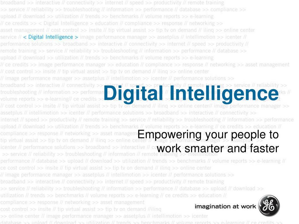 digital intelligence l.