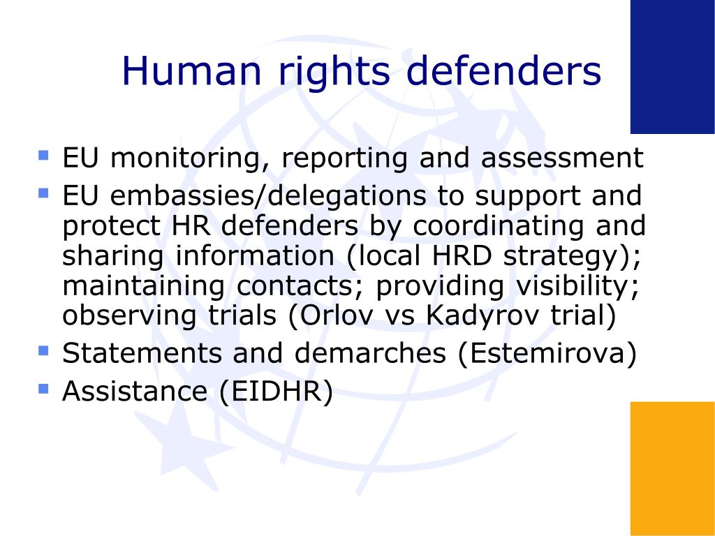 Human rights defenders