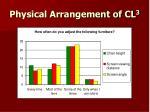 physical arrangement of cl 38