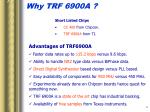 why trf 6900a