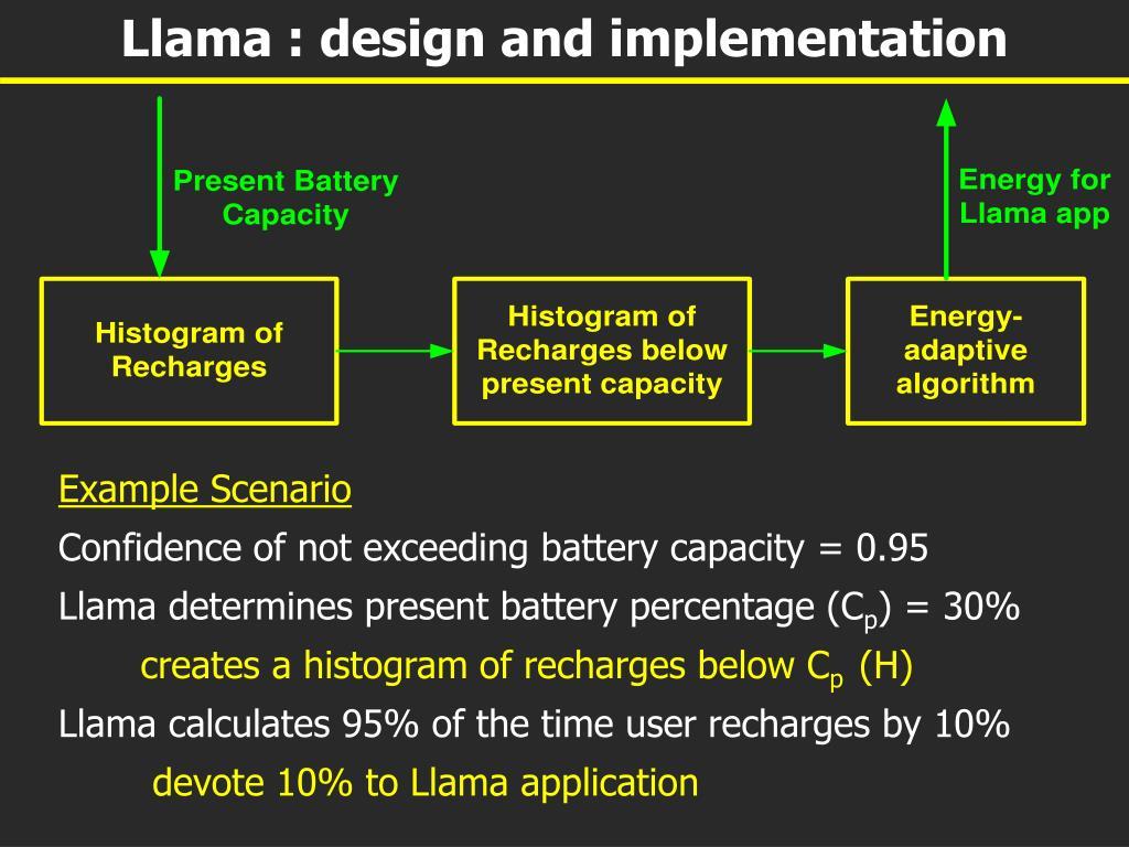 Llama : design and implementation