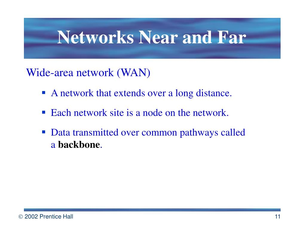 Networks Near and Far