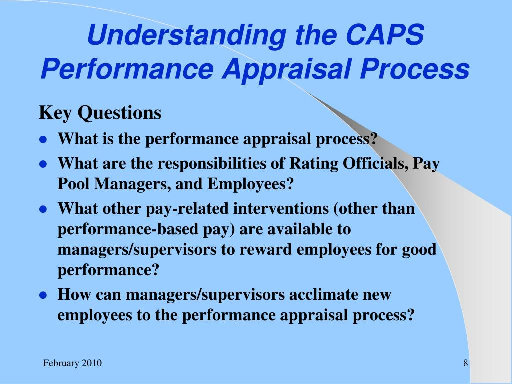 Understanding the CAPS Performance Appraisal Process