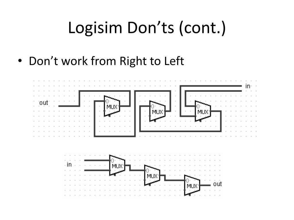 PPT - Logisim PowerPoint Presentation - ID:247318