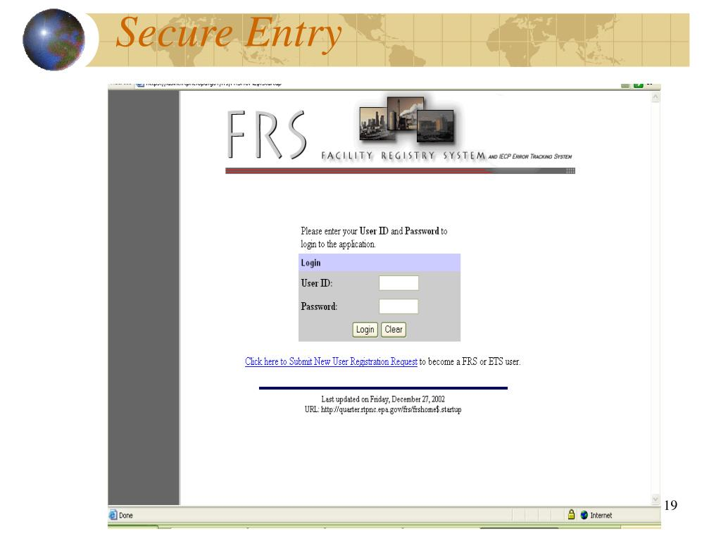Secure Entry