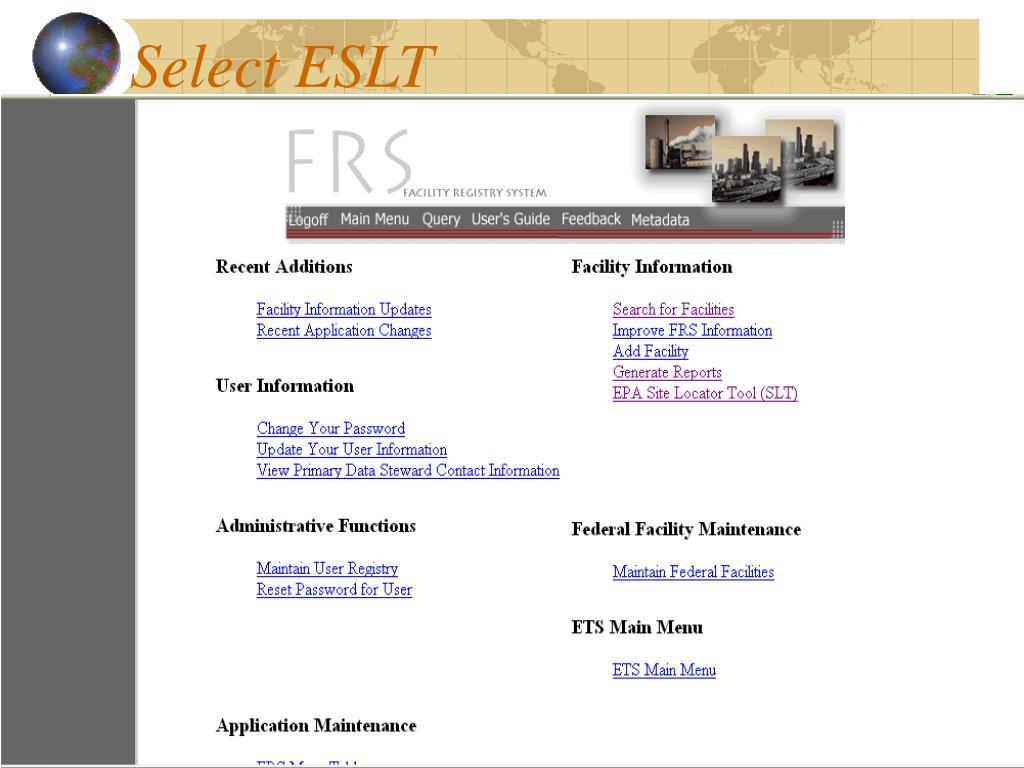 Select ESLT