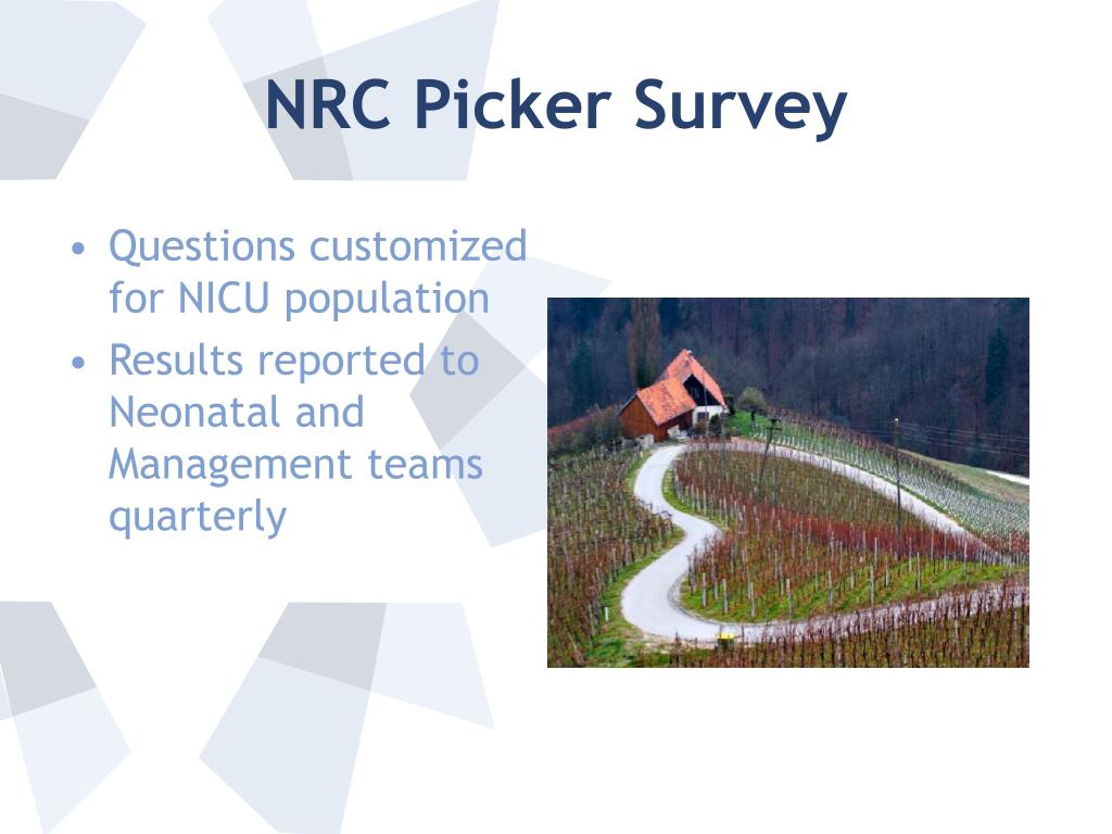 NRC Picker Survey