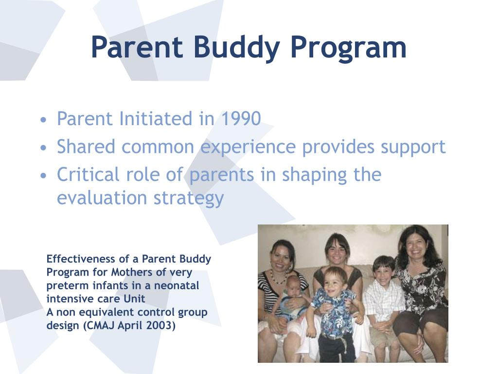 Parent Buddy Program